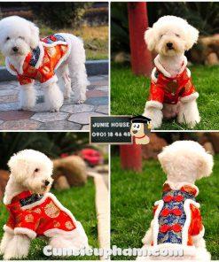 Junie House chuyên cung cấp trang phục cosplay cho chó mèo như áo Adidacog có mũ, hiệp sĩ cao bồi, trang phục Superman, Cướp biển, trang phục tết cho chó mèo... Hotline 0901 18 46 48