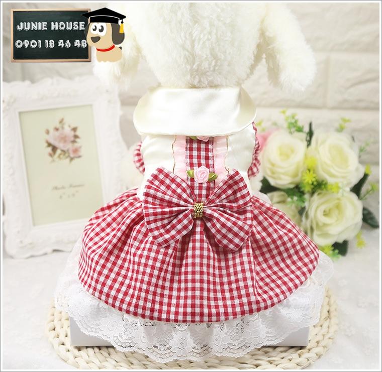 Junie House chuyên cung cấp quần áo cho chó, quần áo chó mèo, đồ chơi cho chó mèo, đồ chơi cá chép cho chó mèo, váy công chúa cho chó mèo... Hotline 0901 18 46 48