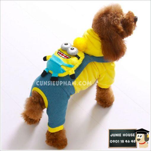 Junie House chuyên cung cấp trang phục cosplay cho chó mèo như áo Adidog có mũ, hiệp sĩ cao bồi, trang phục Superman, Cướp biển, áo minions có mũ cho chó... Hotline 0901 18 46 48