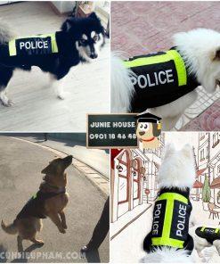 Junie House chuyên cung cấp trang phục cosplay cho chó mèo như áo Adidog có mũ, hiệp sĩ cao bồi, trang phục Superman, Cướp biển, áo police dog cho chó lớn... Hotline 0901 18 46 48