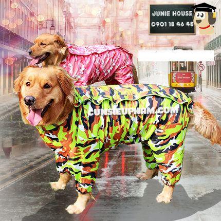 Junie House chuyên cung cấp trang phục cosplay cho chó mèo như áo Adidog có mũ, hiệp sĩ cao bồi, trang phục Superman, Cướp biển, áo mưa cho chó lớn... Hotline 0901 18 46 48