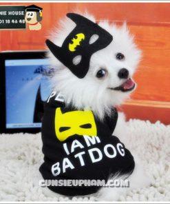 Junie House chuyên cung cấp trang phục cosplay cho chó mèo như áo Adidog có mũ, hiệp sĩ cao bồi, trang phục Superman, Cướp biển, trang phục Batman cho chó mèo... Hotline 0901 18 46 48