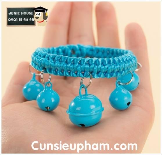 Vòng cổ lục lạc cho chó mèo nhỏ lớn   Junie House   cunsieupham.com