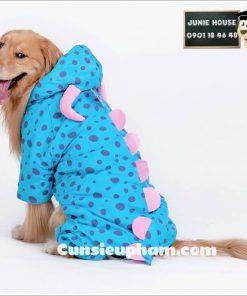 Junie House chuyên cung cấp quần áo cho chó, quần áo chó mèo, phụ kiện chó mèo, đồ tết cho chó mèo, đồ cosplay khủng long đuôi gai cho chó lớn | 0901184648