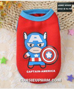 Junie House chuyên cung cấp quần áo, phụ kiện cho thú cưng: Trang phục superman, cướp biển, minions, áo thun siêu anh hùng cho chó mèo   0901.18.46.48