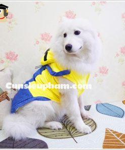 Junie House chuyên cung cấp quần áo cho chó, quần áo chó mèo, phụ kiện chó mèo, đồ noel cho chó mèo, đồ cosplay minions cho chó lớn | 0901.18.46.48