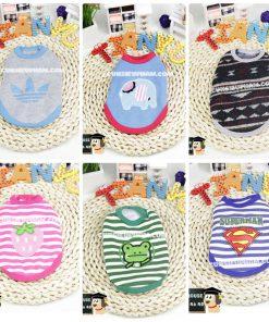 Junie House chuyên cung cấp quần áo, phụ kiện cho thú cưng: Trang phục superman, cướp biển, minions, áo thun 3 lỗ cho chó mèo nhỏ | 0901.18.46.48