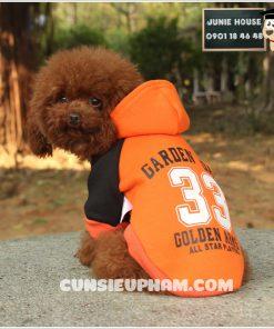 Junie House chuyên cung cấp quần áo, phụ kiện cho thú cưng: Trang phục superman, cướp biển, minions, áo thun có mũ cho chó mèo | 0901.18.46.48v