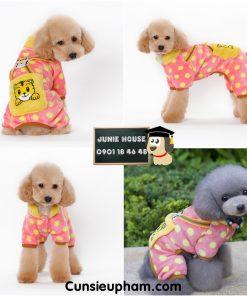 Junie House chuyên cung cấp quần áo cho chó, quần áo chó mèo, đồ chơi cho chó mèo, áo ấm chấm bi dành cho chó mèo... Hotline 0901 18 46 48