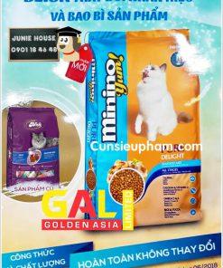 Hạt thức ăn Minion cho mèo | Junie House chuyên cung cấp quần áo cho chó, quần áo chó mèo, đồ chơi cho chó mèo, đồ chơi cá chép cho chó mèo... Hotline 0901 18 46 48