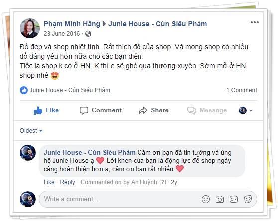 Feedback khách hàng Hà Nội - Junie House | Cún Siêu Phàm