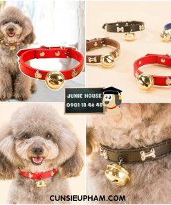 Junie House chuyên cung cấp quần áo cho chó, quần áo chó mèo, đồ chơi cho chó mèo, vòng cổ da chuông dành cho chó mèo nhỏ... Hotline 0901 18 46 48