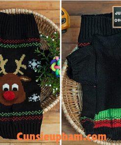 Junie House chuyên cung cấp quần áo cho chó, quần áo chó mèo, áo len noel tuần lộc dành cho boss... Hotline 0901 18 46 48