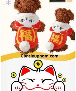 Junie House chuyên cung cấp quần áo cho chó, quần áo chó mèo, áo mèo may mắn dành cho chó mèo nhỏ... Hotline 0901 18 46 48