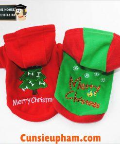 Junie House chuyên cung cấp các loại quần áo phụ kiện cho chó mèo, áo hoodie noel dành cho chó mèo ... Hotline 0901184648