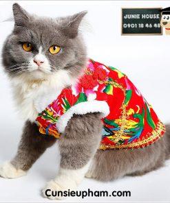 Junie House chuyên cung cấp quần áo cho chó, quần áo chó mèo, đồ chơi cho chó mèo, áo tết họa tiết hoa lá dành cho chó mèo... Hotline 0901 18 46 48