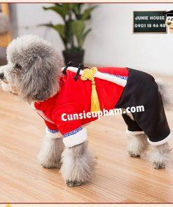 Junie House chuyên cung cấp quần áo cho chó, quần áo chó mèo, đồ chơi cho chó mèo, áo tết họa tiết rồng dành cho chó mèo... Hotline 0901 18 46 48