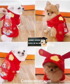 Junie House chuyên cung cấp quần áo cho chó, quần áo chó mèo, đồ chơi cho chó mèo, áo tết túi thần tài dành cho chó mèo... Hotline 0901 18 46 48
