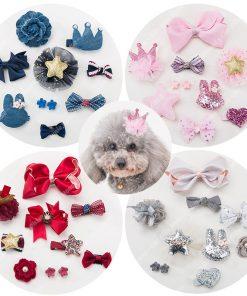 Junie House chuyên cung cấp quần áo, phụ kiện cho thú cưng: Trang phục superman, cướp biển, minions, set kẹp tóc dành cho chó mèo | 0901.18.46.48