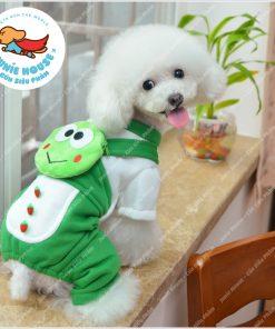 Junie House chuyên cung cấp quần áo, phụ kiện cho thú cưng: Trang phục superman, cướp biển, minions, trang phục ếch xanh cho chó mèo | 0901.18.46.48